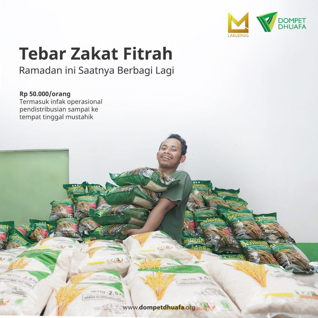 Tebar Zakat Fitrah - 50 K