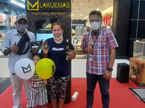 ATM Lakuemas Roadshow at Jambi Town Square (March 15th - 28th, 2021)