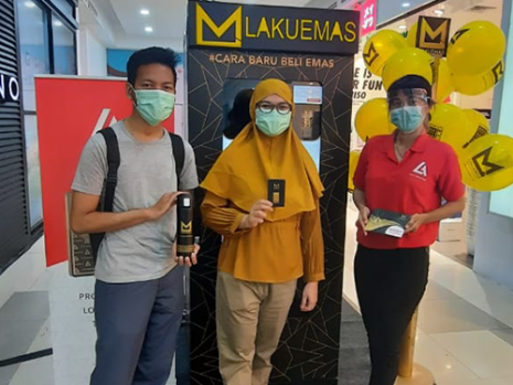 ATM Lakuemas Roadshow at Palembang Square Mall (February 27th - March 12th, 2021)