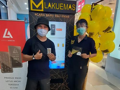 ATM Lakuemas Roadshow at Palembang Square Mall (February 27th - March 12th, 2021)
