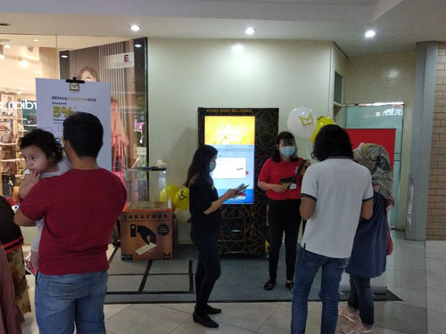 ATM Lakuemas Roadshow at Metropolitan Mall Bekasi (January 7th - 22nd, 2021)
