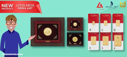 Lakuemas Kenalkan Emas Lotus Archi dan Prima Art