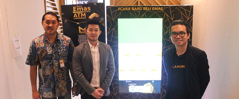 Lakuemas Mudahkan Pengguna Tarik Fisik di ATM Khusus Ambil Emas