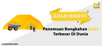 Penemuan Bongkahan Emas Terbesar di Dunia