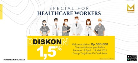 SPECIAL PROMO FOR HEALTHCARE WORKERS