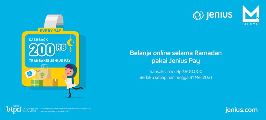 LAKUEMAS X JENIUS PAY