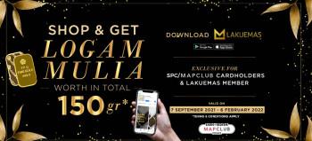 SHOP at SOGO and GET LOGAM MULIA !